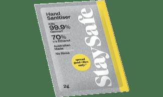 Hand Sanitiser Sachet 2g
